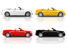 Car Automobile Contemporary Driving Vehicle Transportation Concept Royalty Free Stock Image