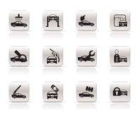 Car and automobile service icon Stock Photo