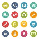 Car Automotive Icons Iconset Royalty Free Stock Images