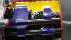 Car automotive transmission technology. Transportation concept stock footage