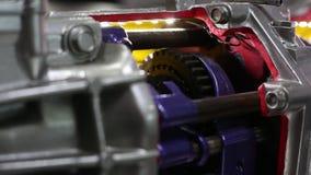 Car automotive transmission technology. Transportation concept stock video footage