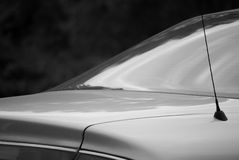 Car back end. Back end of a car Royalty Free Stock Image