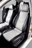 Car back seats royalty free stock images