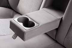 Car back seats interior Stock Images
