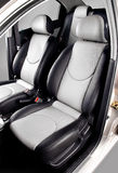 Car back seats interior Stock Photography