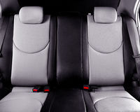 Car back seats interior Royalty Free Stock Images
