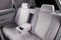 Car back seats interior Stock Photos