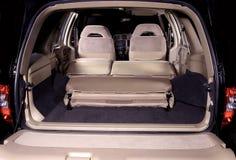 Car back seats interior Stock Photo