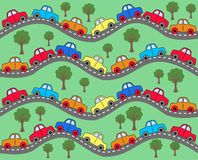 Car background Royalty Free Stock Photography