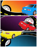Car banner Stock Photos