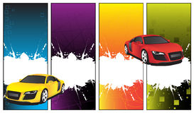 Car banner Stock Photo