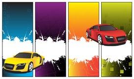 Car banner Stock Photo
