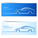 Car banners Stock Photos