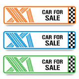 Car banners Royalty Free Stock Photos