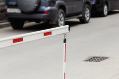 Car barrier Royalty Free Stock Image