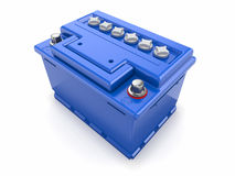 Car battery. 3d Stock Photography