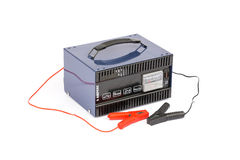 Car battery charger Royalty Free Stock Photos