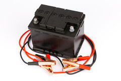 Car battery charger Stock Image