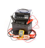 Car battery charger Royalty Free Stock Images
