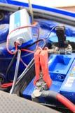 Car battery charging Royalty Free Stock Photos