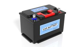 Car battery Royalty Free Stock Photos