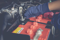Car battery Stock Photos