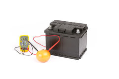 Car battery Royalty Free Stock Images