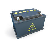 Car battery 12V Stock Photo