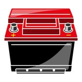 Car Battery Vector Illustration Stock Photo
