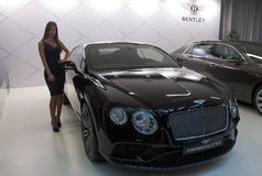 Car Bentley Continental GT W12 Stock Image