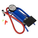 Car Bike Foot Single Cylinder Air Pump Tyre Inflator Stock Photo