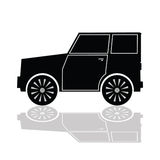 Car in black color vector Stock Photo