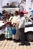 Car Blessing in Copacabana, Bolivia royalty free stock image