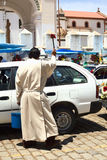 Car Blessing in Copacabana, Bolivia Royalty Free Stock Photography