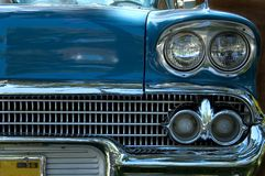 Car Blue 56 Royalty Free Stock Images
