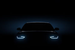 Free Car Blue Headlights, Shape Concept Stock Images - 89821684