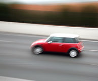 Car blur royalty free stock photography