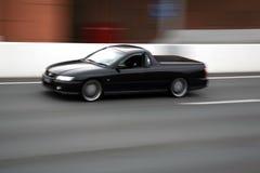 Car blur royalty free stock image