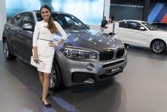 Car BMW X6 Royalty Free Stock Image
