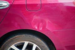 Car body damaged Royalty Free Stock Images