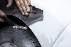 Car Body Repair royalty free stock photography