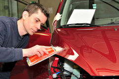 Car body repair. Stock Images