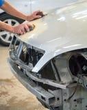 Car body repair Stock Image
