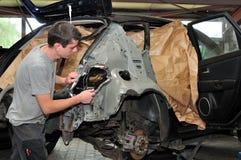 Car body work. Stock Image