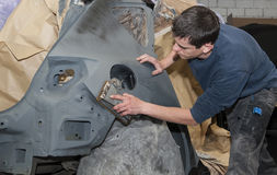 Car body work. Stock Images