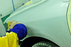 Car body work Stock Images