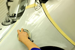 Car body work Royalty Free Stock Photography