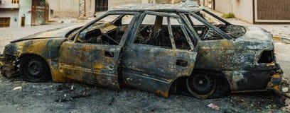 Car bomb Stock Photo