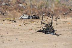 Car bomb Stock Image
