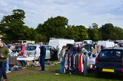 Car boot sale Stock Photography
